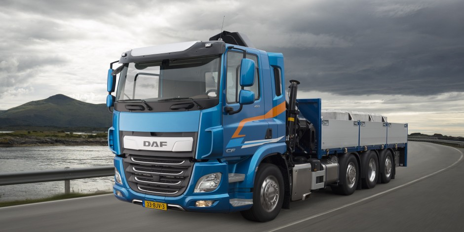 DAF NEW XF en CF Line Up compleet Blom-DSW Trucks Zuid-Holland FAQ Efficienter 7%